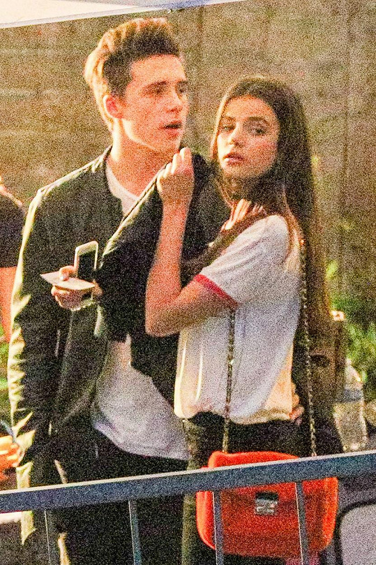 S modelkou Soniou Ben Ammar Beckham junior už není.