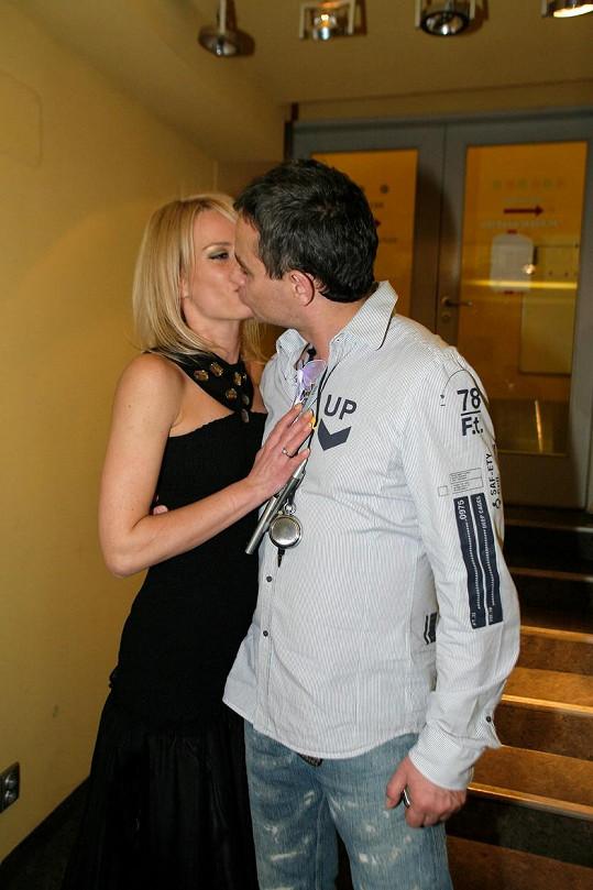Vztah prožil i s Kristinou Kloubkovou.