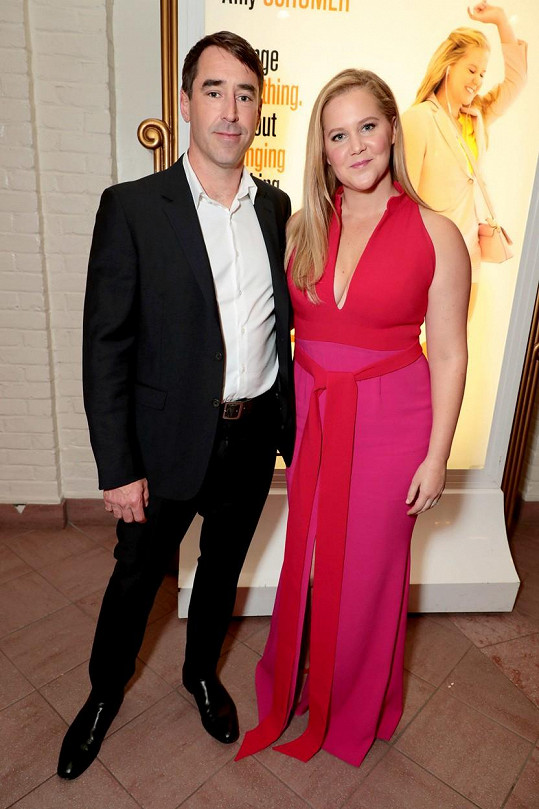 S manželem Chrisem Fischerem