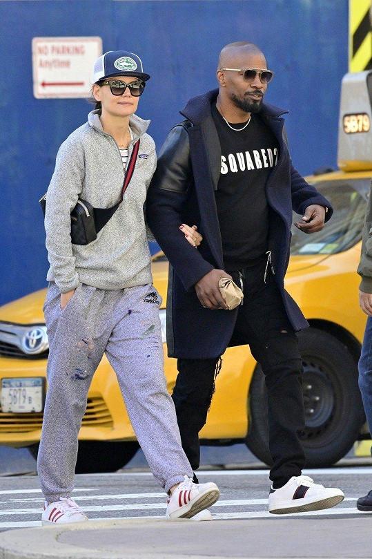 Katie Holmes a Jamie Foxx spolu randí už několik let.