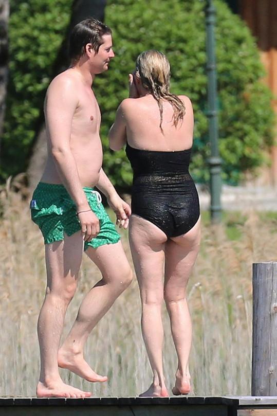 Kate a Nikolai relaxovali v Rakousku.