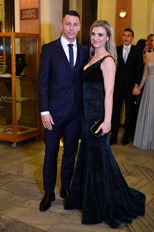 Marek Suchý s manželkou Alenou