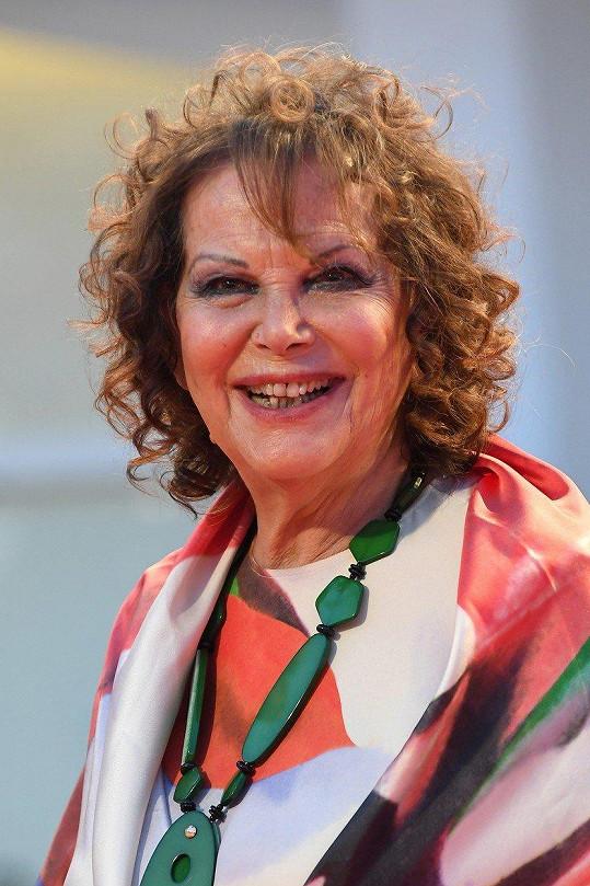 Cardinale zavítala na festival v Benátkách.