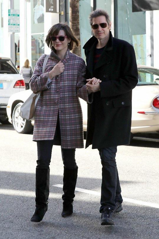 S manželem Paulem Andersonem