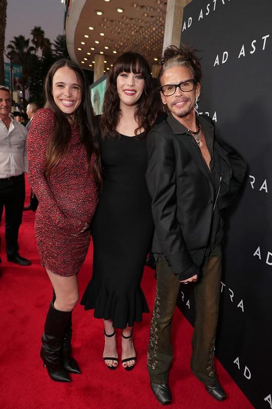 Tyler dorazil na premiéru filmu Ad Astra s Liv Tyler v hlavní roli. Podpořit ji přišla i nevlastní sestra Chelsea.