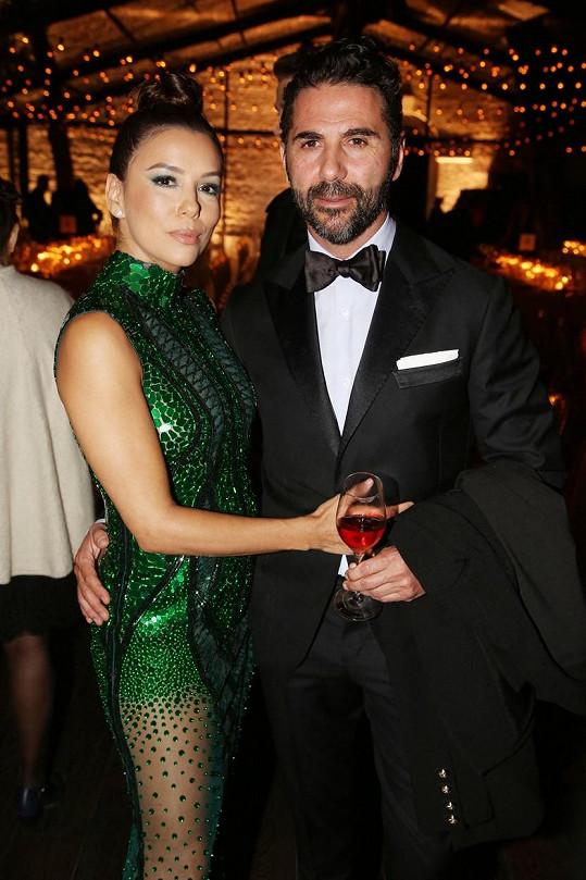 S manželem Jose Antoniem Bastonem