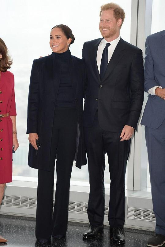 Princ Harry a Meghan navštívili New York.
