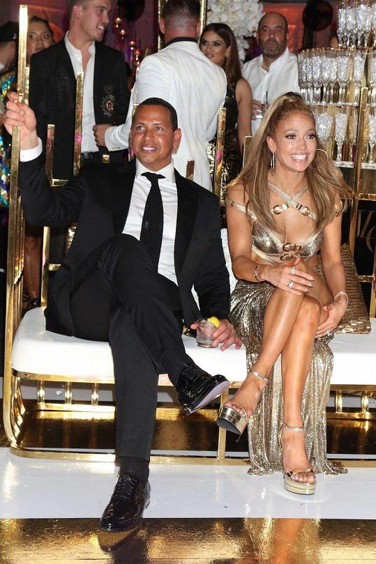 Alxe Rodriguez slavil narozeniny několik dní po Jennifer Lopez.