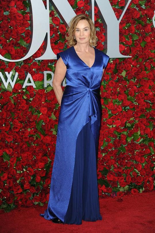 Jessica Lange byla hvězdou ceremoniálu.