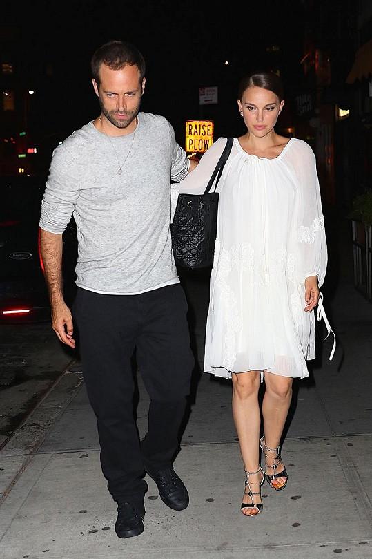 Natalie s manželem Benjaminem