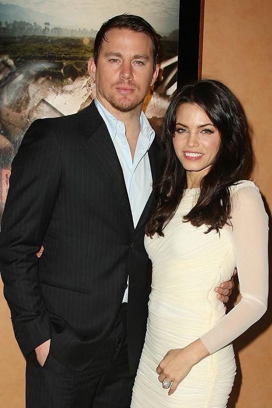 Jenna se loni rozešla s Channingem Tatumem.