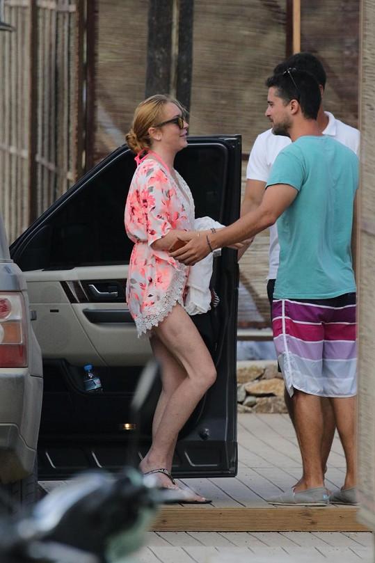 O zájem mužů herečka po rozchodu s Egorem nemá nouzi.