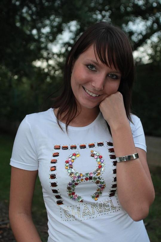 Veronika Arichteva, ještě jako Veronika Nová, v roce 2007.