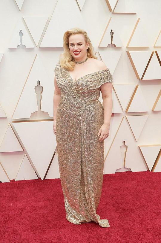 Už na letošních Oscarech vypadala skvěle.