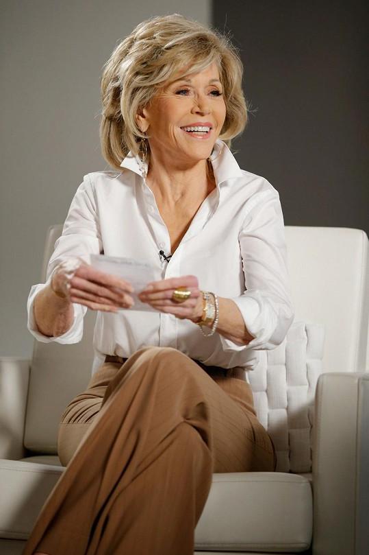 Jane Fonda snad zastavila čas.