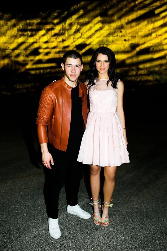 Maya a Nick Jonas na její oslavě