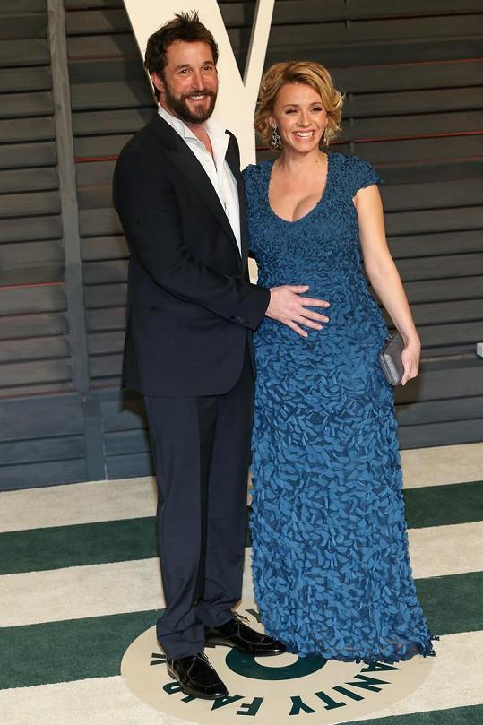 Noah Wyle bude brzy trojnásobným tatínkem.