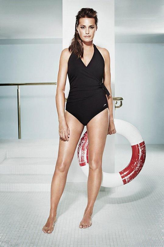 Yasmin Le Bon před třemi lety nafotila plavkovou kampaň.