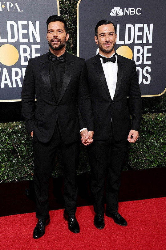 Ricky a Jwan dorazili ruku v ruce na udílení Zlatých glóbů.