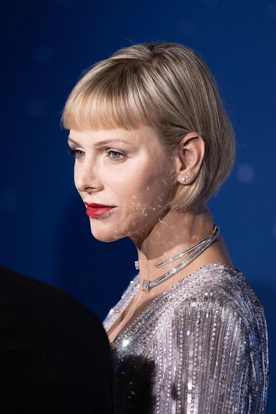 Charlene v září 2020