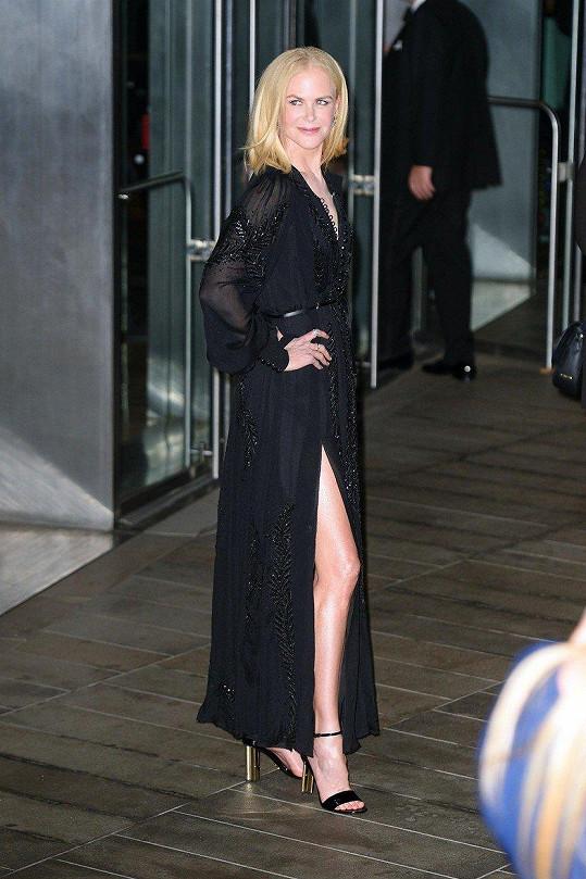 Nicole Kidman pózovala před Lincolnovým centrem...