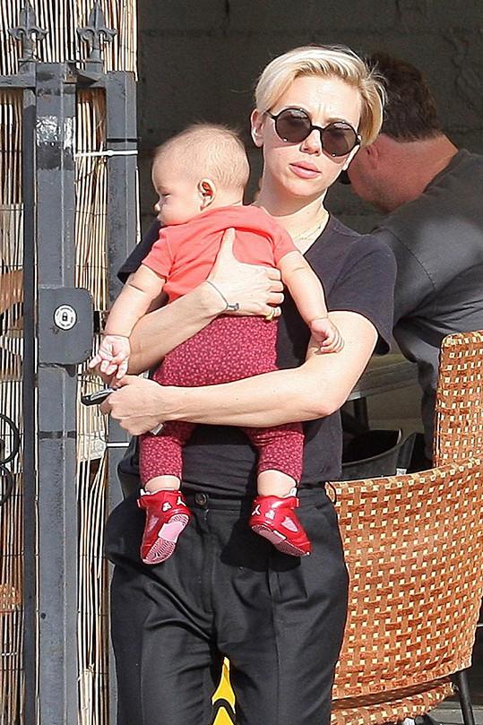 Scarlett Johansson s dcerkou Rose