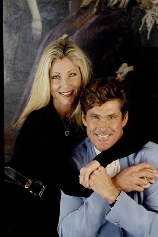 Pamela Bach-Hasselhoff na snímku se svým bývalým manželem Davidem Hasselhoffem