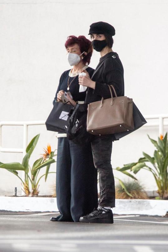 Sharon Osbourne s nejstarší dcerou Aimee