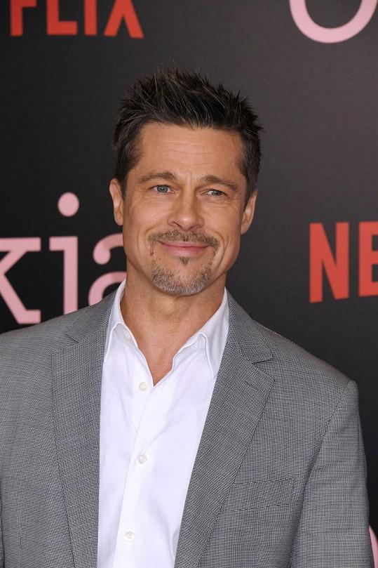 Brad Pitt je prý zamilovaný.