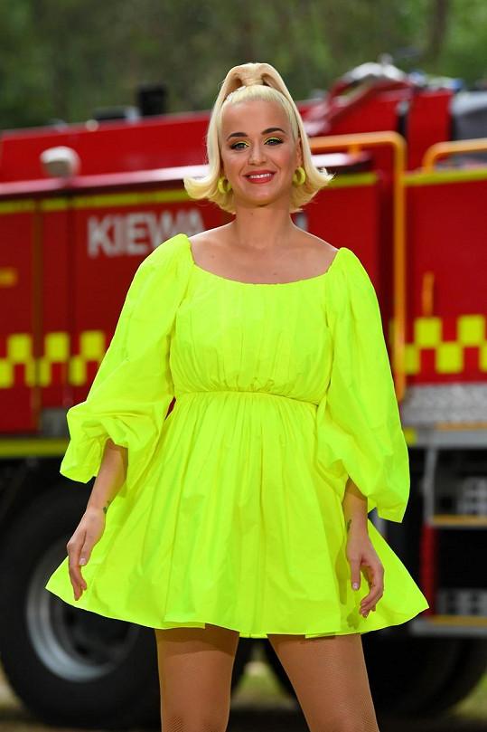 Katy Perry se na příchod dcerky velmi těší.