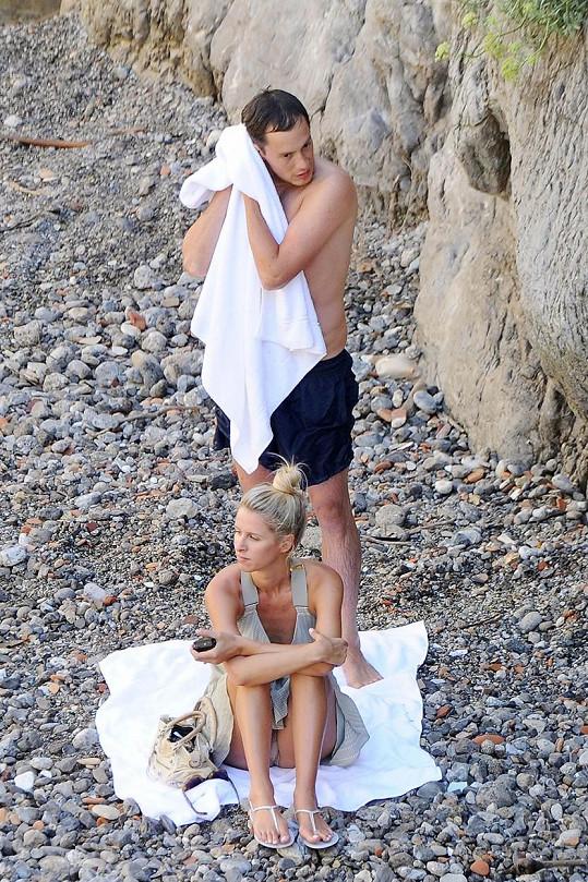 James s Nicki vyrazili do Itálie.