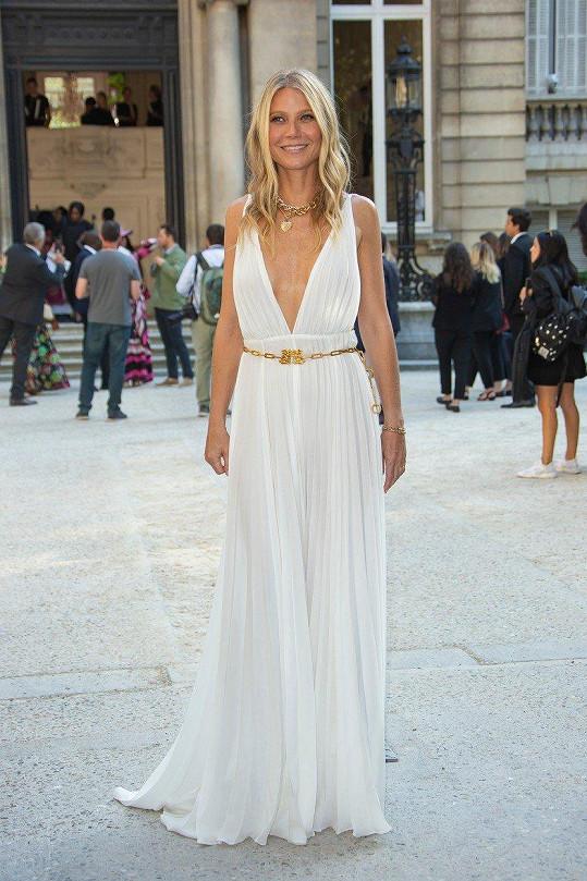 Gwyneth Paltrow vypadala jako řecká bohyně.