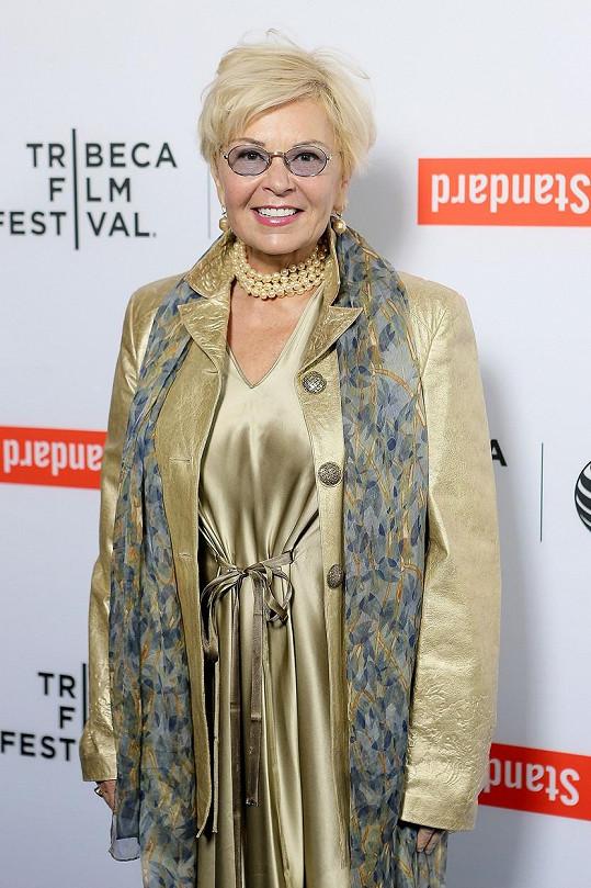 Roseanne Barr v 62 letech