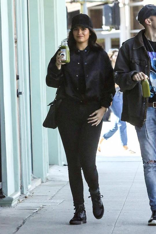Kylie Jenner během nedělní procházky