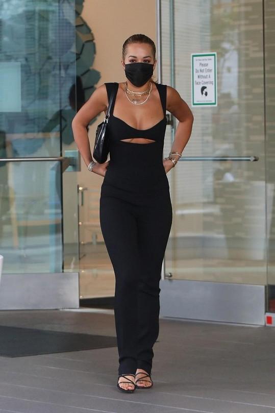 Rita Ora se z Austrálie přesunula do USA.