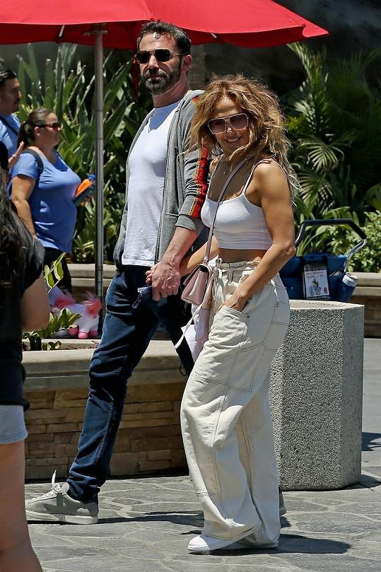 Jennifer Lopez a Ben Affleck se vztahem už netají.