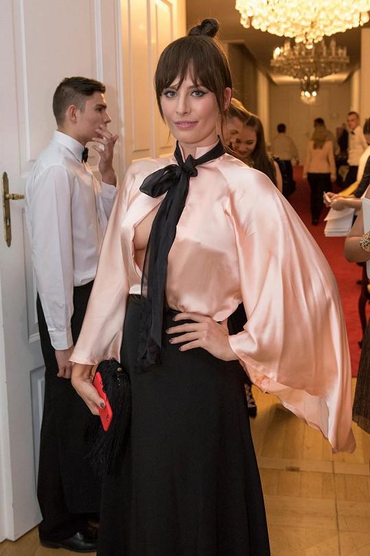 Modelka a Misska Barbora Franeková si potrpí na odvážné modely.