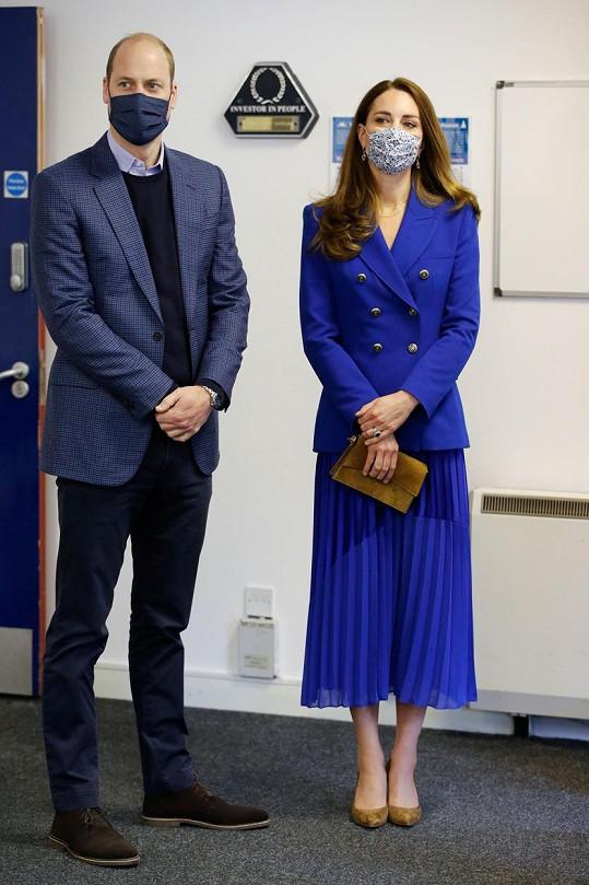 Princ William a vévodkyně Kate jsou na pracovní cestě ve Skotsku.