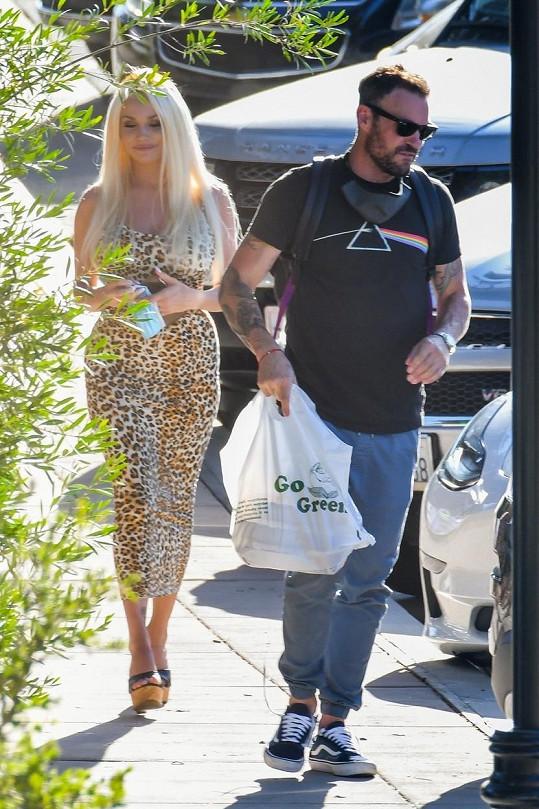Courtney a Brian se nedávno objevili společně na veřejnosti.