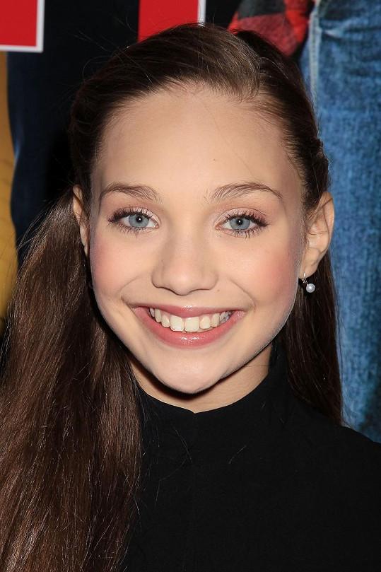 Dvanáctiletá Maddie Ziegler