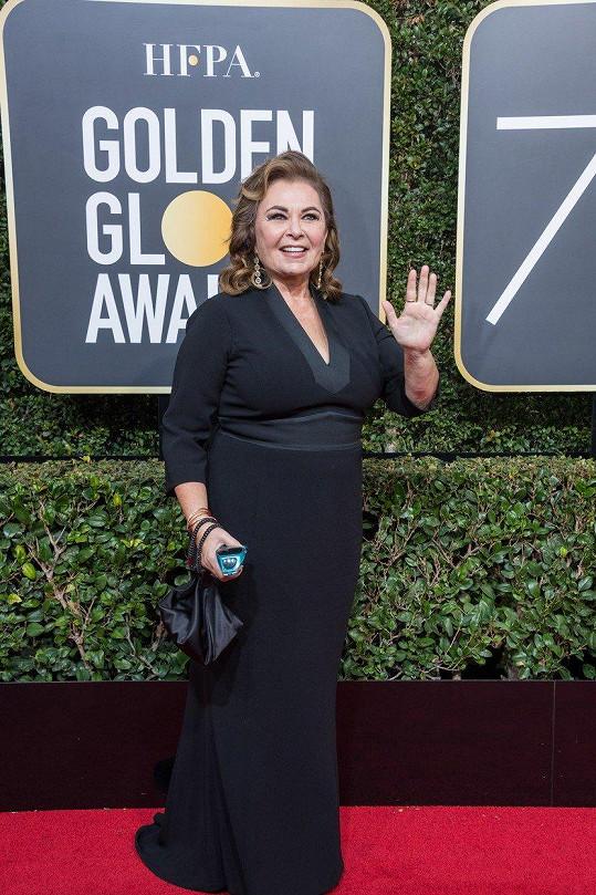 Roseanne Barr na sebe může být hrdá.