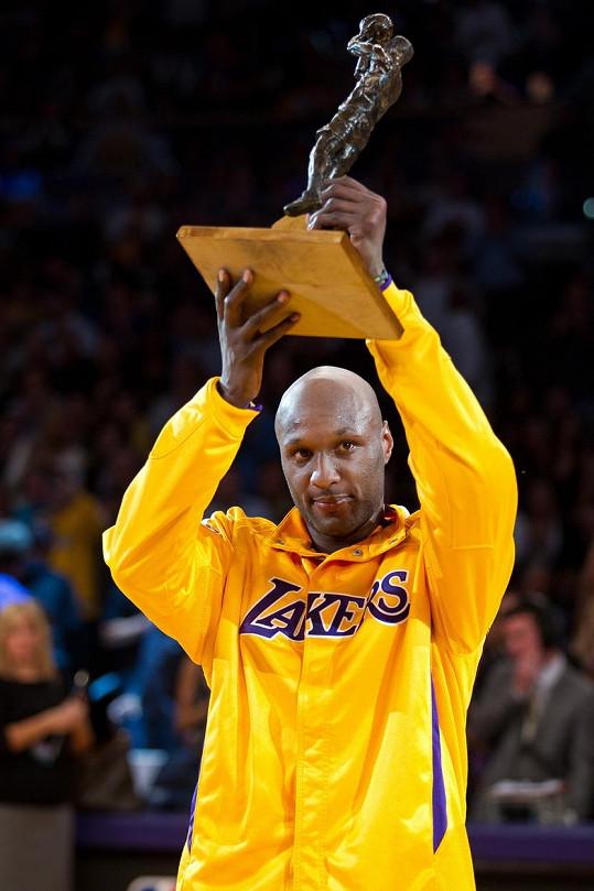 Lamar Odom slavil s Los Angeles Lakers řadu úspěchů.