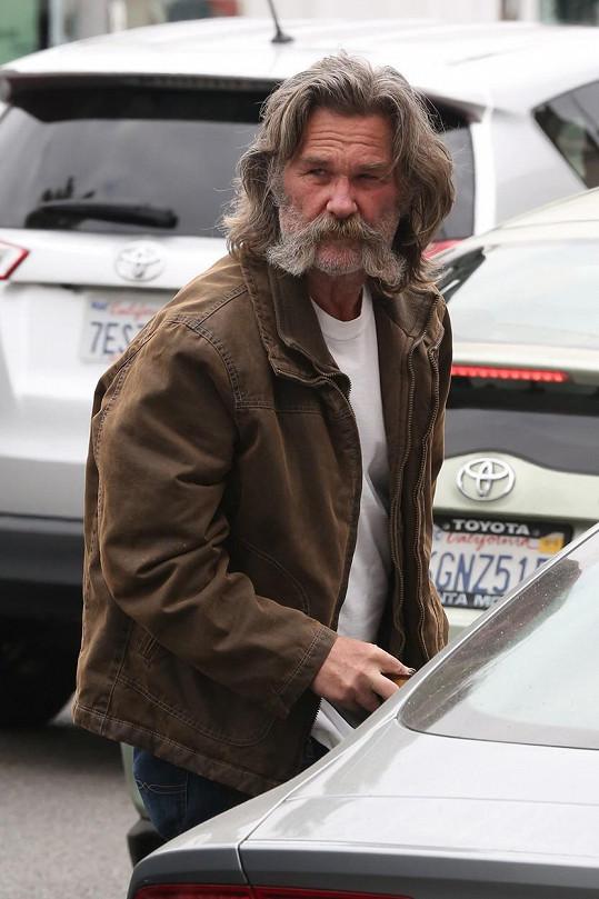 Herec se kvůli roli ve westernu The Hateful Eight musel nechat zarůst.