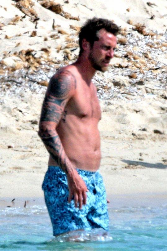 Claudio Marchisio v plavkách potěšil své fanynky.