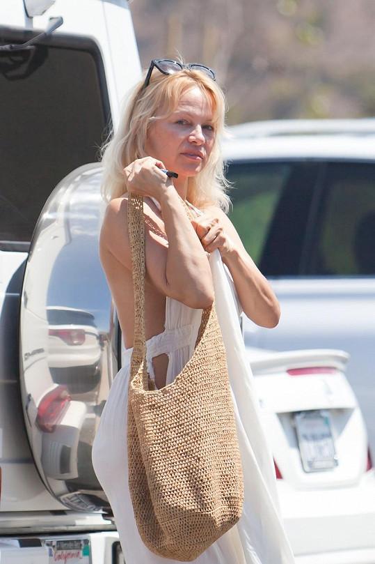 Pamela v srpnu roku 2016