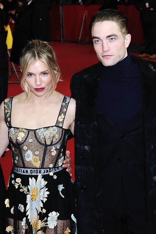 Sienna Miller s Robertem Pattinsonem