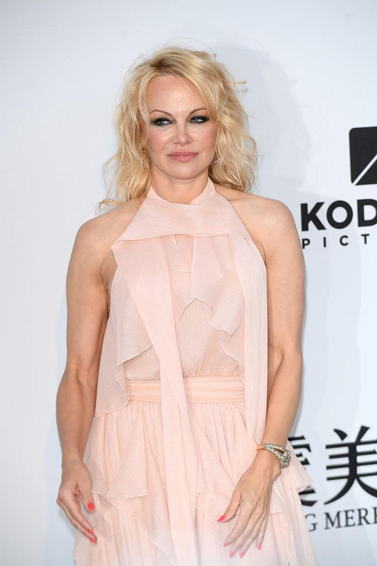 Pamela Anderson nemůže vystát svůj odraz v zrcadle.