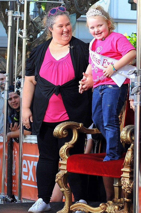 Mama June s dcerkou Honey Boo Boo