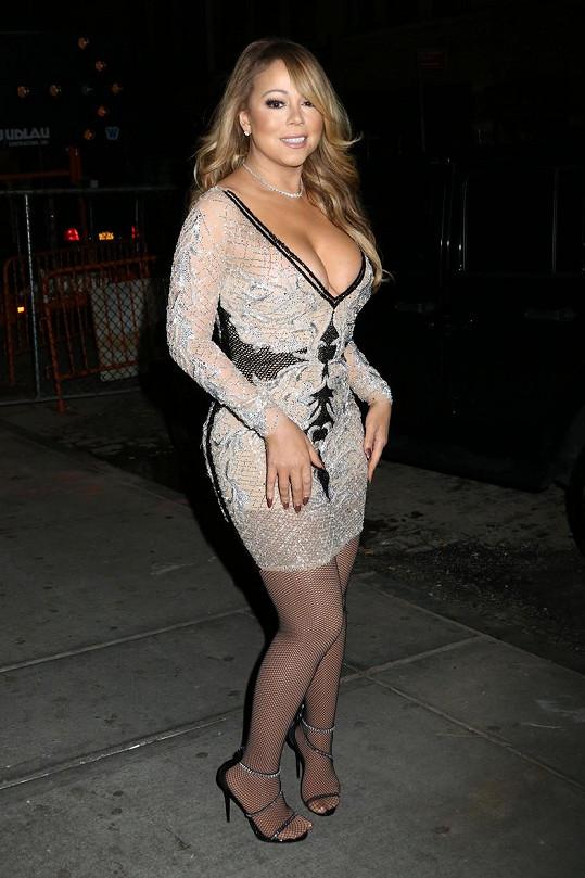 Mariah přišla prezentovat svou reality show.