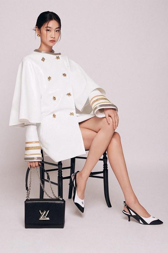 Značka Louis Vuitton si ji vybrala jako tvář poslední kolekce.